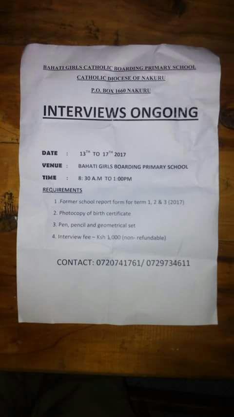 Massive Hiring Of Teachers, Over 300 Posts Open - Youth Village Kenya