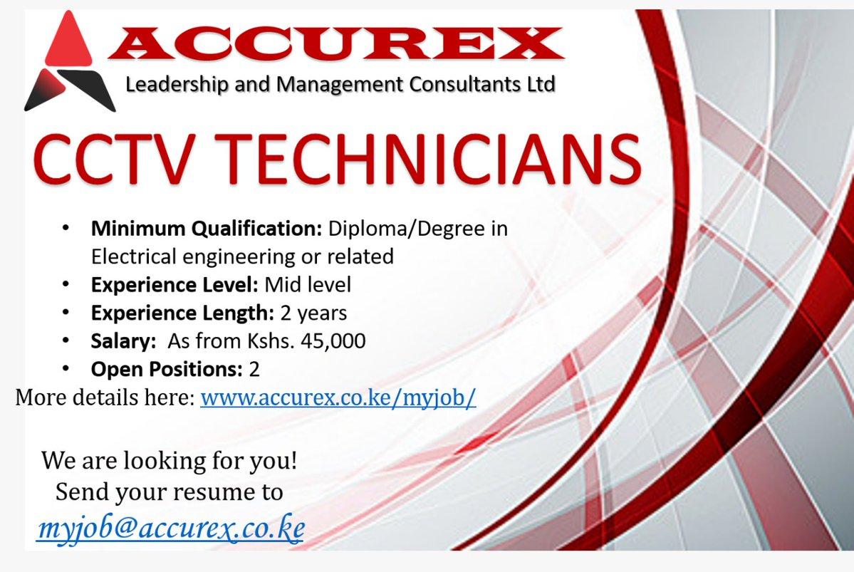 CCTV Operators Needed At Accurex- Salary Sh 45K