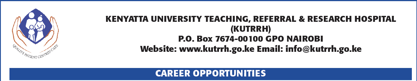Kenyatta University Hospital Massively Hiring In 490 Vacancies