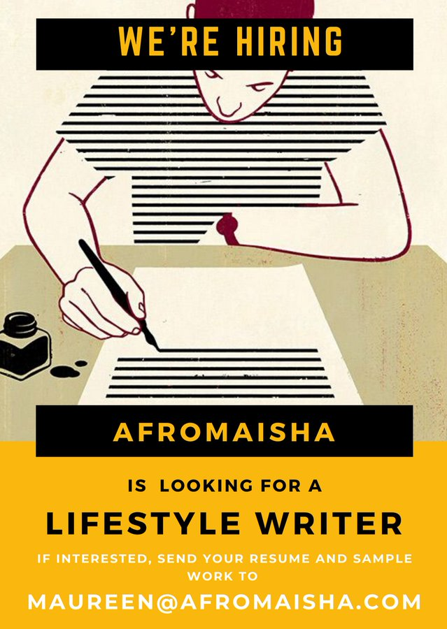 AfroMaisha is looking for a Lifestyle Writer - Opportunities ...