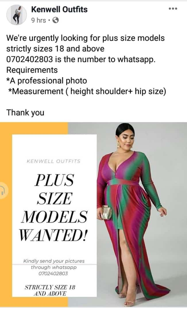 Plus Size Models Wanted Opportunities For Young Kenyans